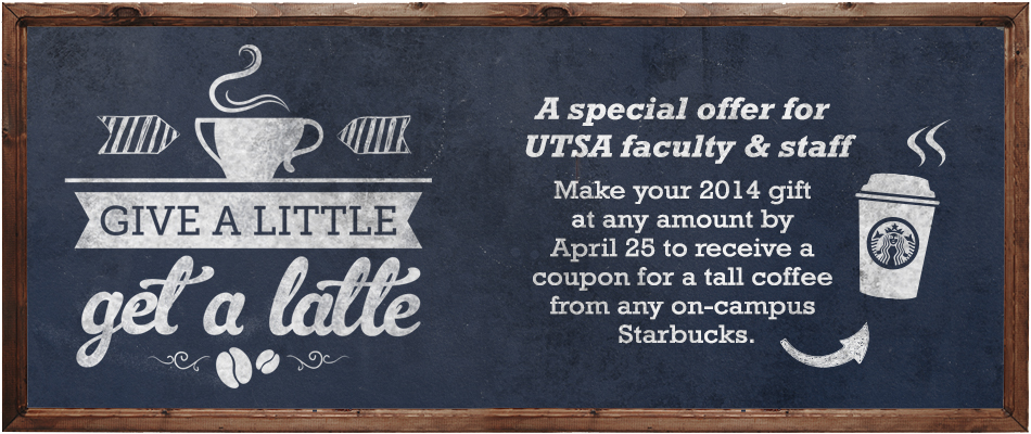 Faculty Staff Campaign 2014 Giving Utsa The