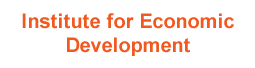 Institute for Econonmic Development