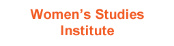 Women's Studies Institute